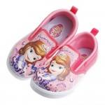 Disney迪士尼蘇菲亞小公主粉紅兒童休閒鞋(16~21公分)