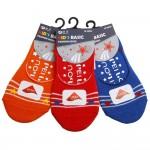 台灣製頂級萊卡舒柔棉閃耀星星雙止滑吸汗隱形襪