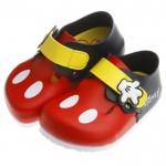 Disney迪士尼90週年限定版米奇手套歐風氣墊懶人拖鞋(1...