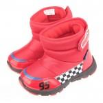 Disney迪士尼Cars汽車總動員閃電麥坤紅色保暖雪靴(1...