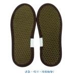 竹炭柔軟防臭鞋墊(15~19cm)