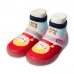 Feebees夢幻島LRRH小紅帽寶寶機能襪鞋(12.5~16.5公分)