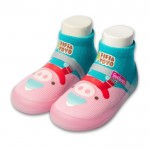 Feebees夢幻島WarmPig暖暖豬寶寶機能襪鞋(12.5~16.5公分)