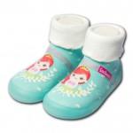 Feebees夢幻島MintPrcs薄荷公主寶寶機能襪鞋(12.5~16.5公分)