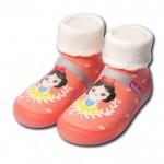 Feebees夢幻島OrangePrcs橘子公主寶寶機能襪鞋(12.5~16.5公分)